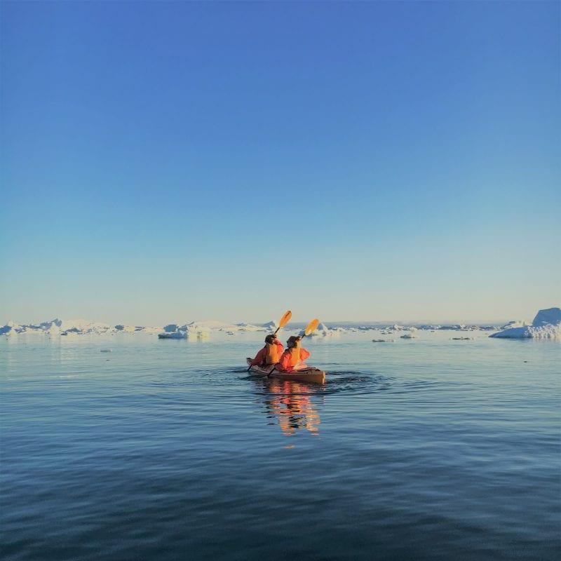 En Kayakudflugt i Grønland - Fotograf: Lotte Soendermark